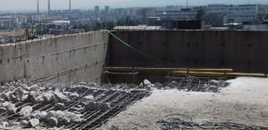 Къртене на бетонова плоча