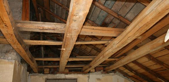 Демонтаж на таван
